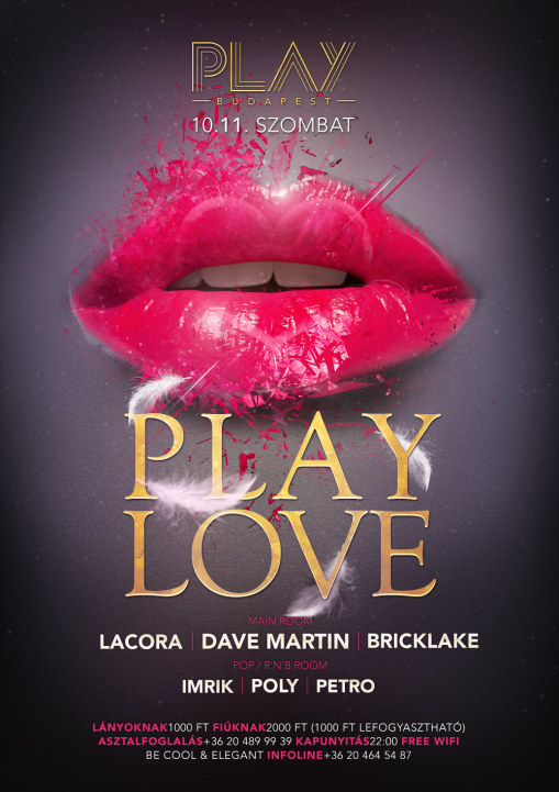 - Play Love @ Club Play